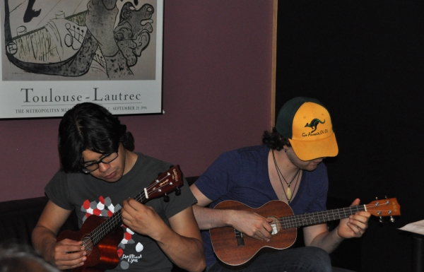 Exclusive Photos: In the Recording Studio with ONCE for Carols For A Cure