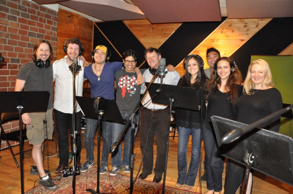 Andros Rodriguez (Engineer) and Lynn Pinto (Producer) join J. Michael Zygo, Adam Wesl Photo