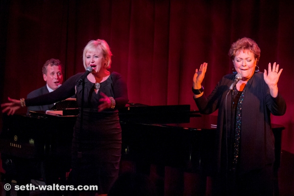 Billy Stritch, Sally Mayes and Sharon Montgomery