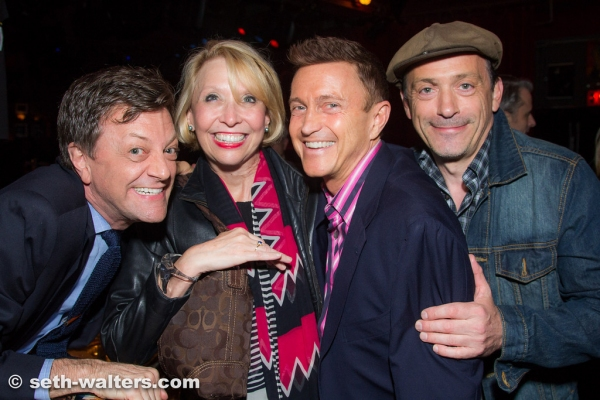 Jim Caruso, Julie Halston, Jeff Harnar and Lionel Casseroux