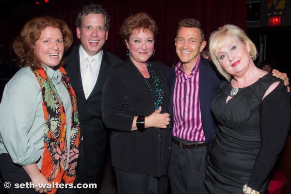 KLea Blackhurst, Billy Stritch, Sharon Montgomery, Jeff Harnar and Sally Mayes