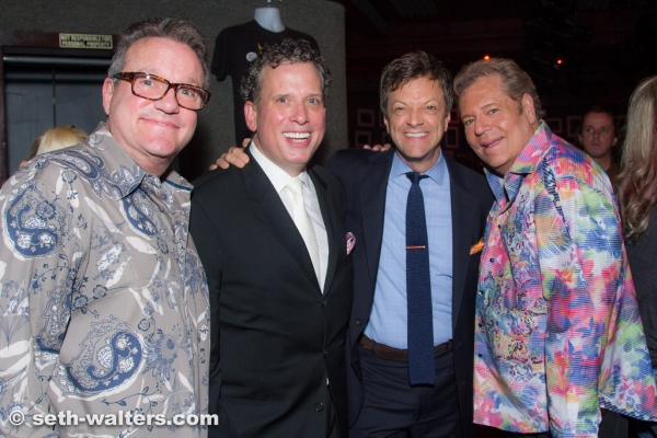 Mark Lowry, Billy Stritch, Jim Caruso and Bubba McNeeley