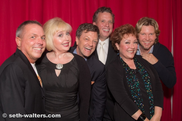 Matt Berman, Sally Mayes, Jim Caruso, Billy Stritch, Sharon Montgomery and Mark Payne