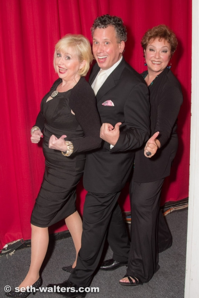 Sally Mayes, Billy Stritch and Sharon Montgomery