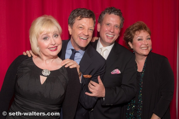 Sally Mayes, Jim Caruso, Billy Stritch and Sharon Montgomery