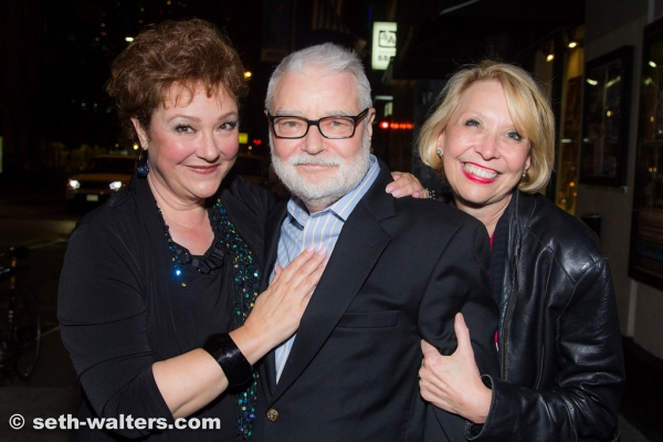 Sharon Montgomery, Ralph Howard and Julie Halston