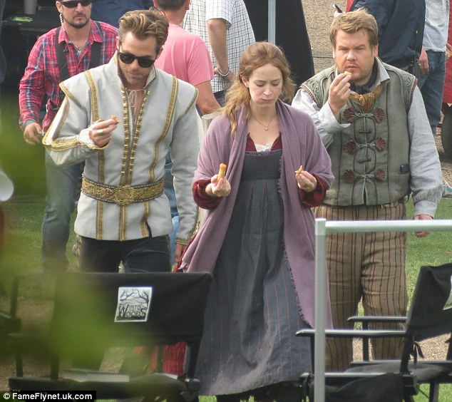 INTO THE WOODS Movie Set Update! Kendrick, Pine, Cinderella's Family & More