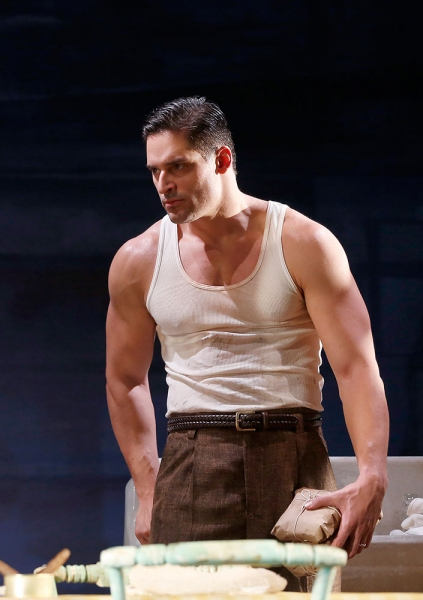 Photo Flash: First Look at Joe Manganiello, René Augesen and More in Yale Rep's A STREETCAR NAMED DESIRE