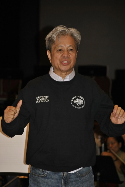 Conductor Michael Dadap
