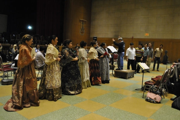 PHOTOS: At the Sitzprobe of NOLI ME TANGERE-OPERA