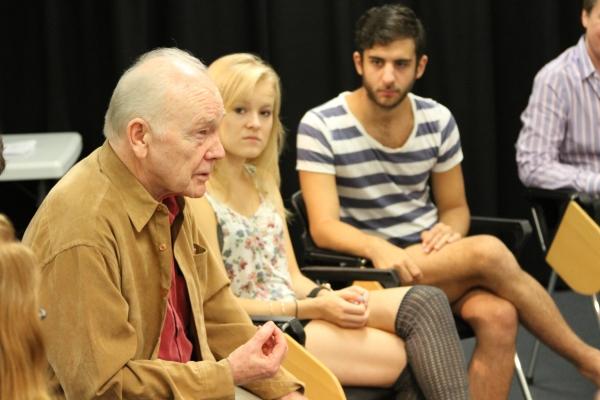 Dennis Kelly visits Chapman University