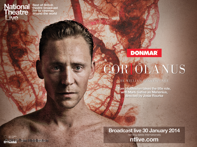 First Promo For Tom Hiddleston In CORIOLANUS