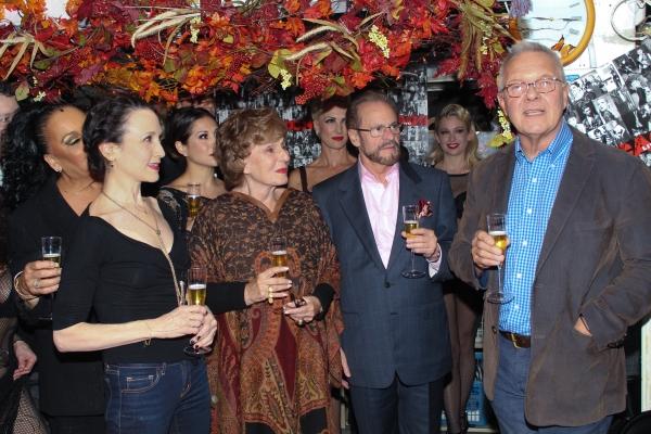 Walter Bobbie, Barry Weissler, Fran Weissler, Bebe Neuwirth and the cast