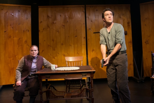 Photo Flash: First Look at The Gamm's A NUMBER and FAR AWAY Double-Bill