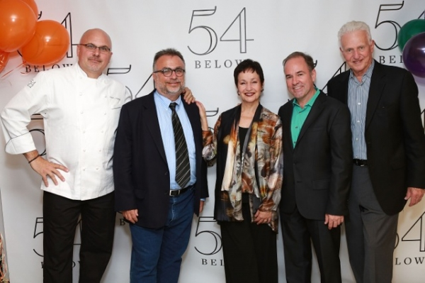 Andre Marrero, Richard Frankel, Lynn Ahrens, Stephen Flaherty, Tom Viertel