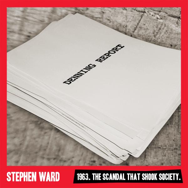New STEPHEN WARD Social Media Image Revealed