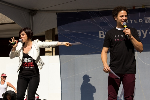 Photo Coverage: Casts of ANNIE, CINDERELLA, PIPPIN & More Perform at BROADWAY ON THE HUDSON