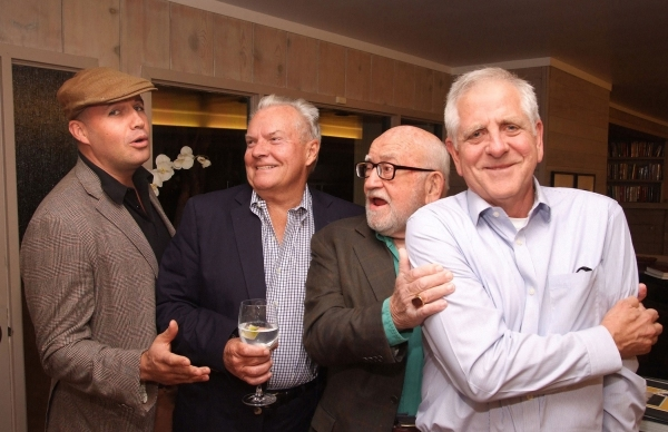 Billy Zane, Peter Jason, Ed Asner and Dan McCleary Photo