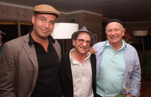 Billy Zane, Gary Grossman (Producing Artistic Director of Skylight Theatre Company),  Photo