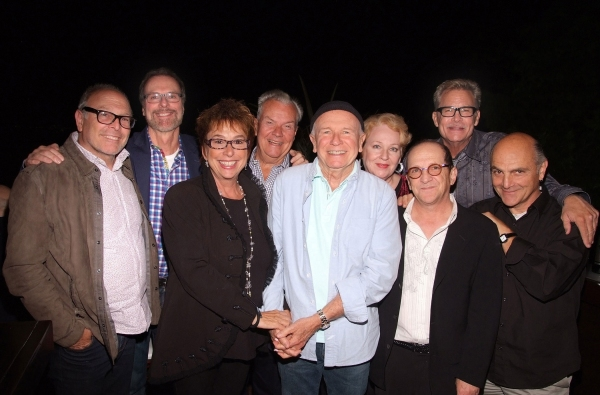 Skylight Theatre Company (Board Members) honor Terrence McNally during a kick-off celebration party at the home of producer Suzi Dietz.