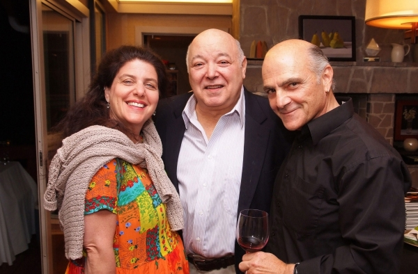 Tony Award nominee Sheryl Kaller, Don Amendola and Tony Abatemarco