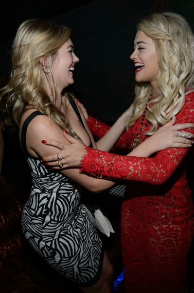 Kate Upton and Rita Ora