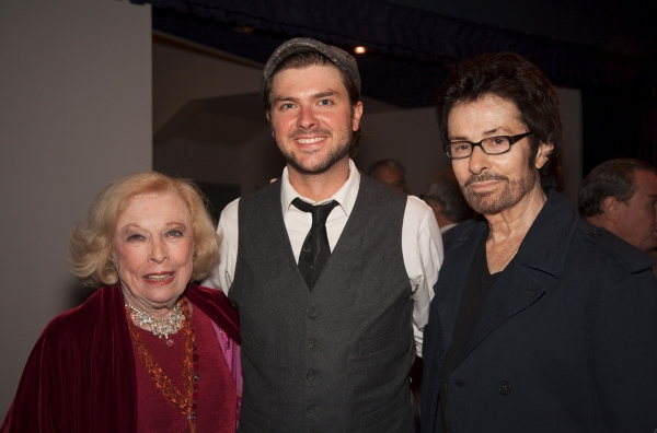 Jane Kean, Adam Meyer and George Chakiris