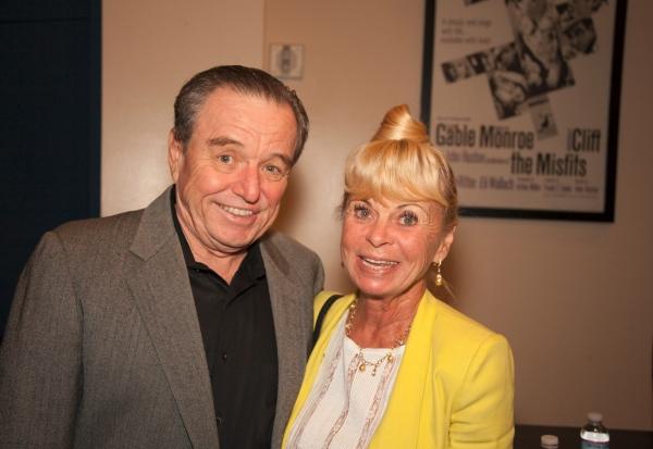 Jerry Mathers and Mrs. Dick ''Cari'' Clark Photo