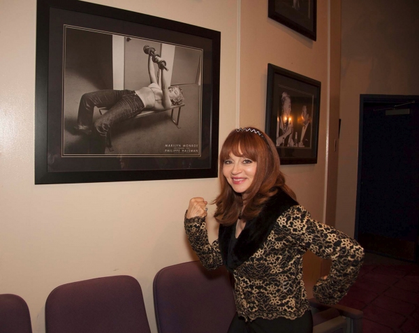 Judy Tenuta in the Monroe gallery