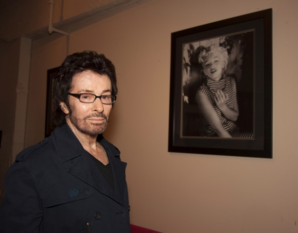 George Chakiris in the Monroe gallery