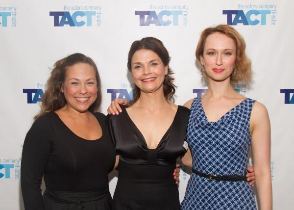 Eve Bianco, Kathryn Erbe and Victoria Mack Photo