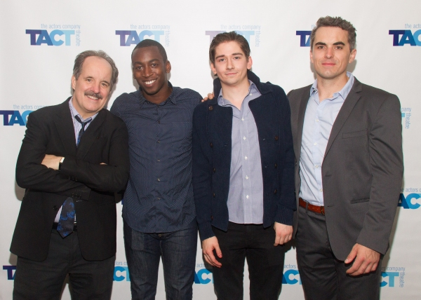 John Pankow, Tobi Aremu,  Alec Beard  and Chris Bert