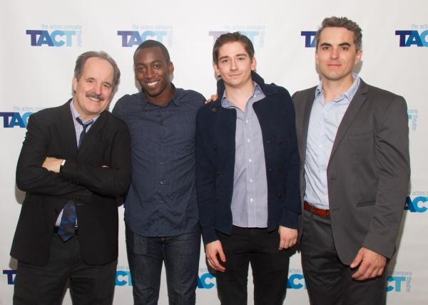 John Pankow, Tobi Aremu,  Alec Beard  and Chris Bert