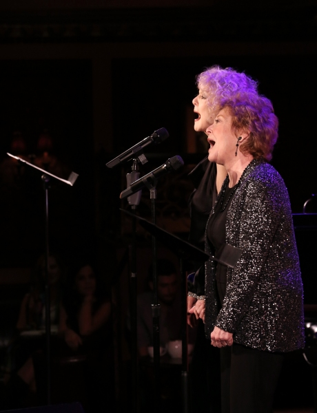 Photo Coverage: Anita Gillette & Penny Fuller Give SIN TWISTERS Preview at 54 Below