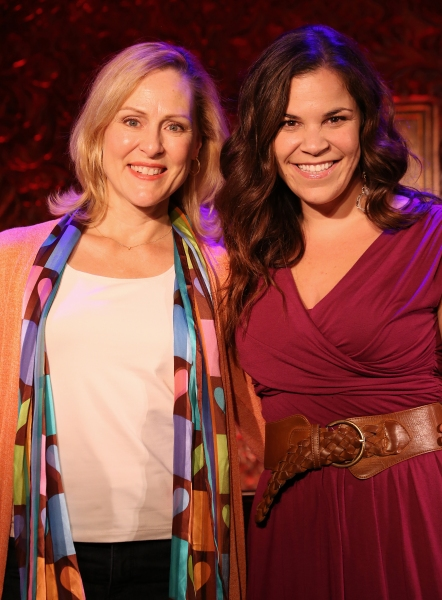 Photo Coverage: Lindsay Mendez & Donna English Preview Songs from PRINCESSES- THE MUSICAL Reunion at 54 Below