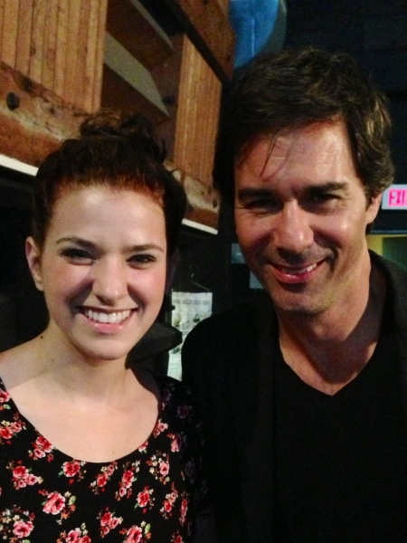 Danielle Wade and Eric McCormack