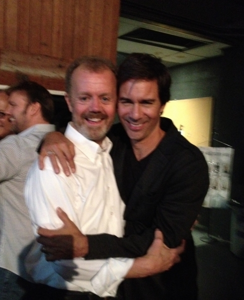 Lee MacDougall and Eric McCormack
