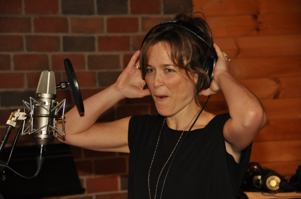 Exclusive Photos: In the Recording Studio with the Cast of NEWSIES for Carols For A Cure