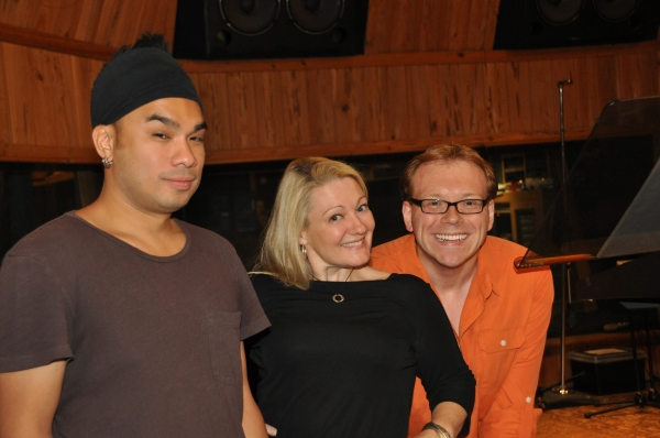 Andros Rodriguez (Engineer), Lynn Pinto (Producer) and Richard Rockage