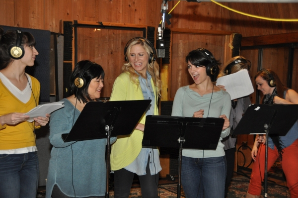 Exclusive Photo Coverage: Laura Osnes, Santino Fontana & CINDERELLA Cast Record Carols For A Cure