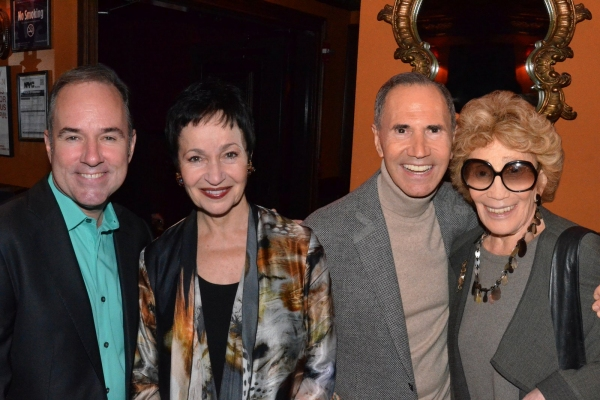 Stephen Flaherty, Lynn Ahrens, Freddie and Myrna Gershon