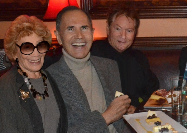 Myrna and Freddie Gershon, Jean Claude Baker (Chez Josephine)
