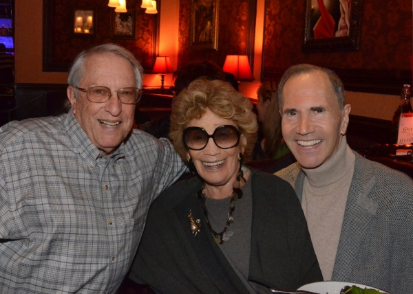 Steve Baruch, Myrna and Freddie Gershon