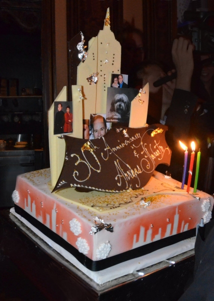 Photo Coverage: Myrna and Freddie Gershon Host 30th Anniversary Celebration for Lynn Ahrens and Stephen Flaherty at 54 Below