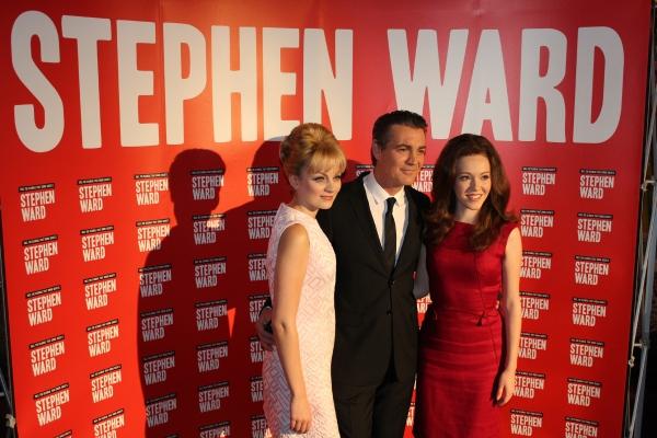 Charlotte Blackledge (Mandy Rice-Davies), Alexander Hanson (Stephen Ward) and Charlot Photo