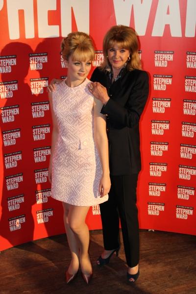 Charlotte Blackledge (Mandy Rice-Davies) and Mandy Rice-Davies