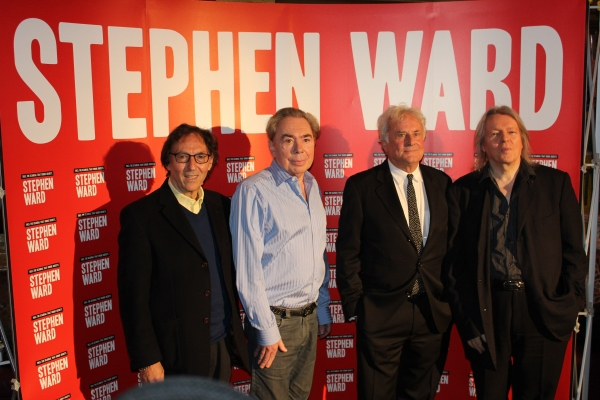Don Black, Andrew Lloyd Webber, Richard Eyre and Christopher Hampton