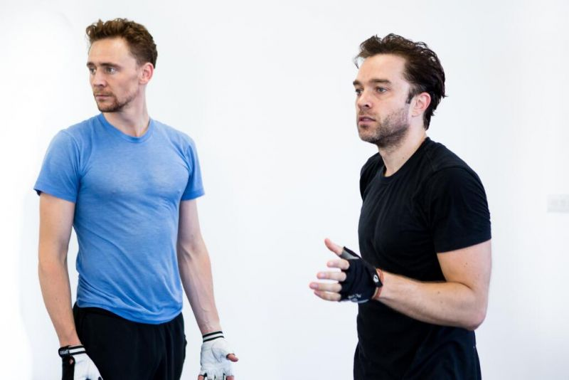 In Rehearsal With Tom Hiddleston & CORIOLANUS