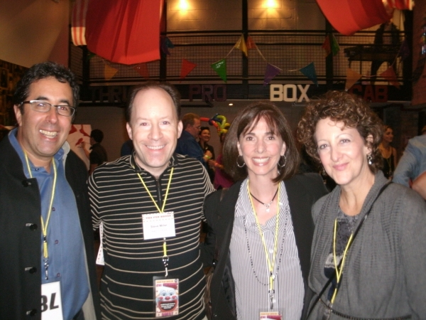 Barry Moltty, Steve Miller, Diane Miller and Sara Shafran