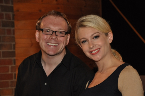 Exclusive Photo Coverage: In the Recording Studio with Cast of CHICAGO for Carols For A Cure